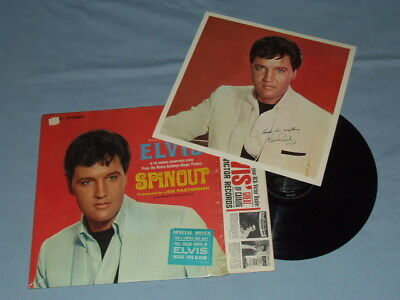 "1966 Elvis ""Spinout"" LP (Factory Shrink)!! Super Clean W/Sticker & Bonus Photo!!"