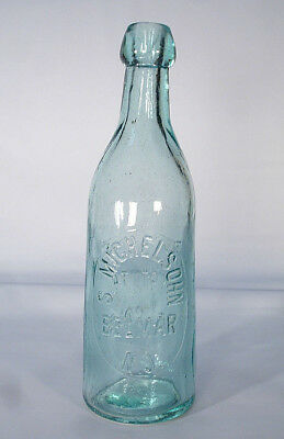 Belmar Nj Michelsohn Monmouth County New Jersey Blob Top Beer Or Soda Bottle