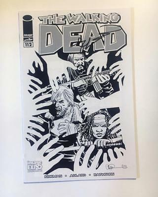 The Walking Dead 112 Image Expo Variant Signed By Robert Kirkman W/coa 1