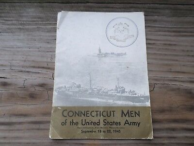 wwii connecticut men in the united states army september 1945 fort devens book