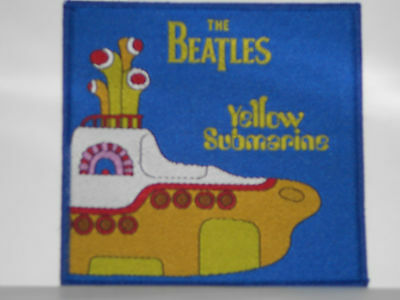 """The Beatles Yellow Submarine Sub Patch 4""""x3 3/4"""" Tall New"""
