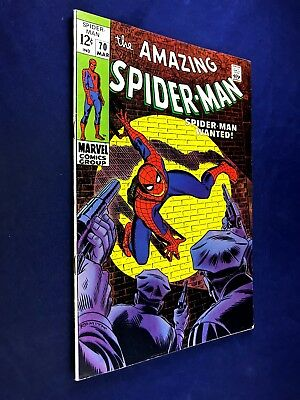 Amazing Spider-Man #70 (1969 Marvel Comics) Kingpin appearance NO RESERVE