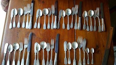 Vintage Sterling Silver 1810 INTERNATIONAL Set 43 Pieces 6 Place Settings PLUS!