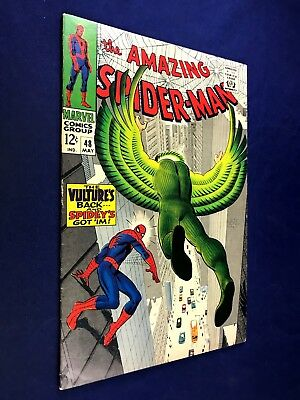 Amazing Spider-Man #48 (1967 Marvel Comics) Vulture appearance NO RESERVE