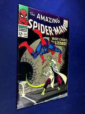 Amazing Spider-Man #44 (1967 Marvel Comics) Lizard appearance NO RESERVE
