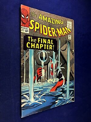 Amazing Spider-Man #33 (1966 Marvel Comics) Dr Octopus appearance NO RESERVE