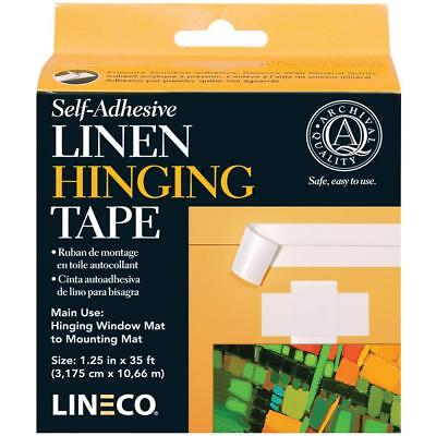 Lineco Archival Quality Hinging Tape - Paper or Linen, Gummed or Self-Adhesive