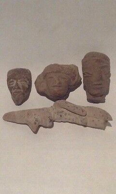 Pre Columbian Terracotta group lot