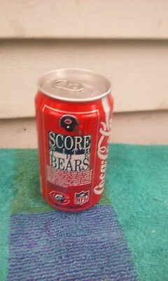 Coca Cola Coke Classic Score With The Bears Soda Can Cans Up