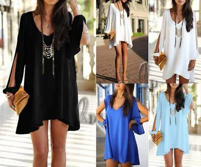 WHOLESALE BULK LOT 10 MIXED COLOUR SIZE A-Line Mini Dress Top Beach Cover dr030