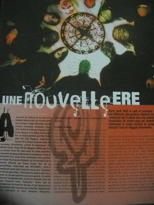 SLIPKNOT 9 full pages press clipping from 2006 french magazines