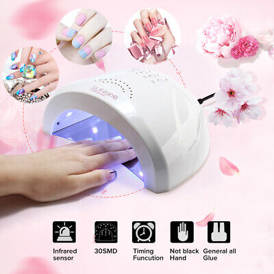 48W Sunone LED UV Nail Lamp Light  Nail Dryer Gel Polish Cure Manicure Machine