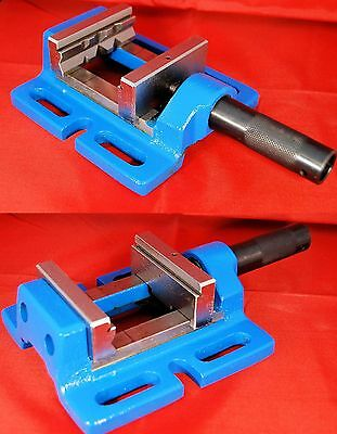 80 MM Precision Drill Press Vice 110160 From Chronos For Drilling Machine