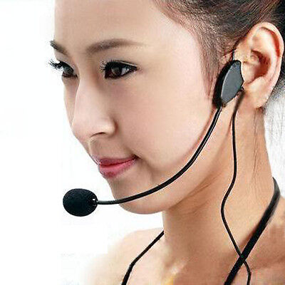 Educational lectures Headset Microphone Headset Amplifiers 3.5 Interface Hot