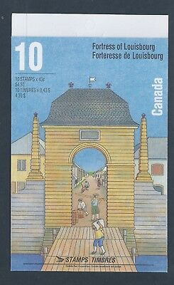Canada Booklet 1995 Fortress of Louisbourg #BK175b MNH
