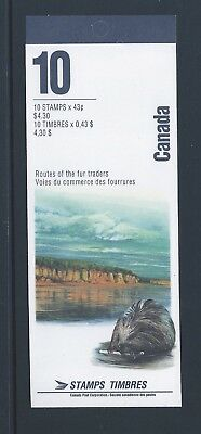Canada Booklet 1994 Heritage Rivers #BK170b MNH
