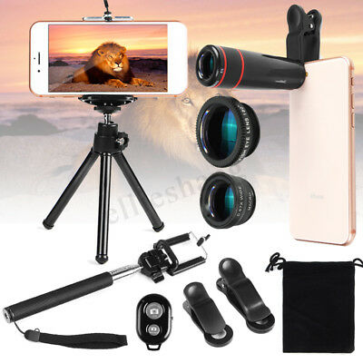 All in 1 Accessories Camera Lens Top Travel Kit Holder Tripod For iPhone Samsung
