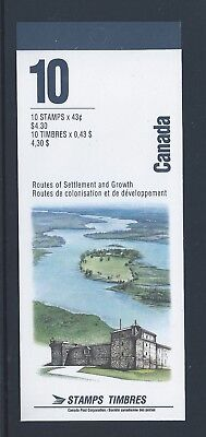 Canada Booklet 1993 Hertage Rivers #BK161b MNH