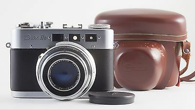VOSS DIAX IIb 35mm FILM RANGEFINDER CAMERA WITH XENON 50mm F/2 LENS