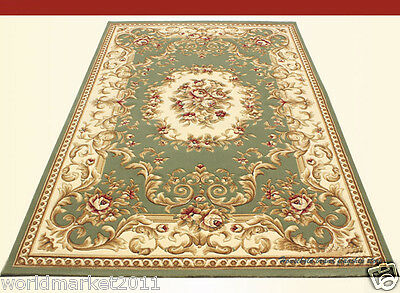 A5 European Style Pure Wool Length 170CM Manual Weaving Carved Flowers Carpet