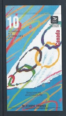 Canada Booklet 1992 Olympic Summer Games #BK146b MNH