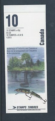 Canada Booklet 1992 Heritage Rivers #BK145b MNH
