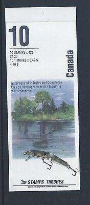 Canada Booklet 1992 Heritage Rivers #BK145a MNH