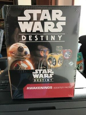 Star Wars Destiny: Awakenings Booster Box - Factory Sealed - Free Shipping