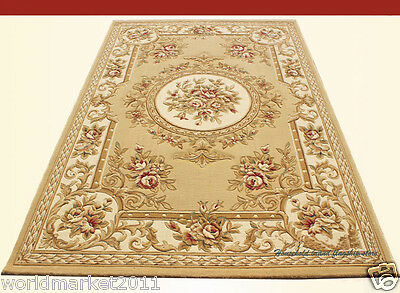 A12 European Style Pure Wool Length 170CM Manual Weaving Carved Flowers Carpet