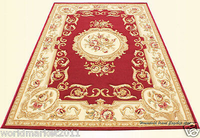 A9 European Style Pure Wool Length 170CM Manual Weaving Carved Flowers Carpet
