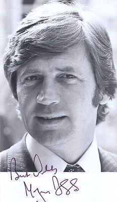 Melvyn Bragg Hand Signed Photo