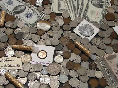 ☆Us Silver Coins Currency Estate Sale Lot ☆ Gold Bullion☆ 50+ Years Old