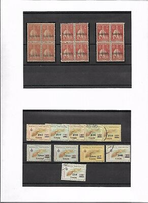 Portuguese Colonies mint and used group (#8757a)