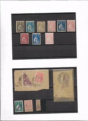 Portuguese Colonies mint and used group (#8758a)