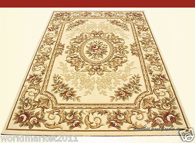 A6 European Style Pure Wool Length 150CM Manual Weaving Carved Flowers Carpet