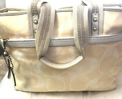 b15731a92719 AUTHENTIC COACH HAMPTONS Baby Diaper Business Tote Bag