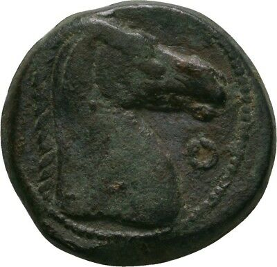 Lanz Carthage Sardinia Tanit Horse Bronze Circle North Africa Greek §ve1811