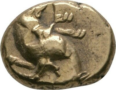 Lanz Mysia Kyzikos Electrum Gold Hekte Hound Tunny Greek §§jr1835