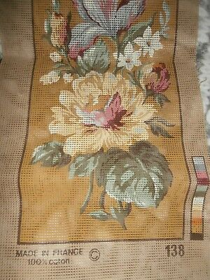 MARGOT Vintage Floral CANVAS ONLY 19 x 7 inch NEW