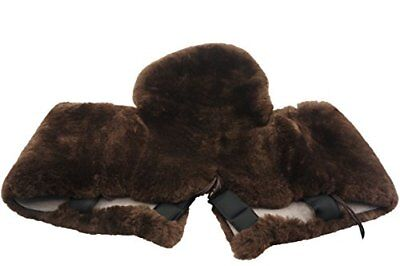 Full Genuine Merino Sheepskin Western Saddle Seat Saver with Extra Long Flap11