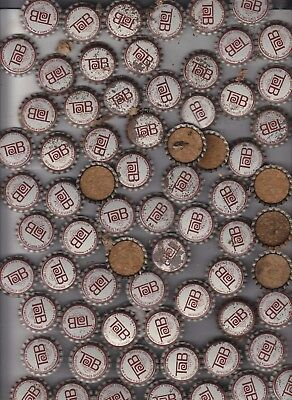 Tab  Bottle Caps    100 Pieces     Unused  But Spoted