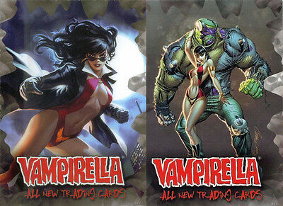 Breygent All New Vampirella 2012 Promo 1 & Promo 2 Trading Card Set