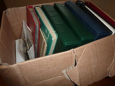 GB 1840-2000 GOOD STAMP ESTATE COLLECTION, LARGE BOX/8x OLD ALBUM/5x PENNY BLACK