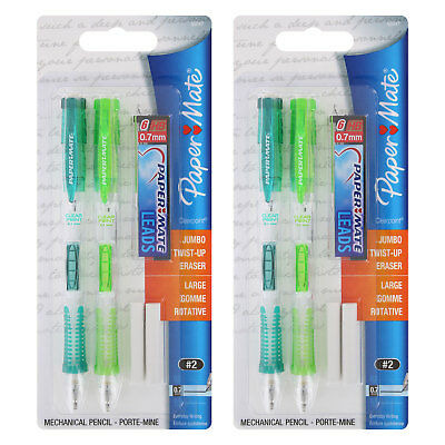 Paper Mate Clear Point Mechanical Pencil Starter Set, 0.7mm, 4-Count,