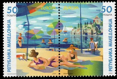 "MACEDONIA 305 - Europa ""People at Beach"" Issue (pa79717)"