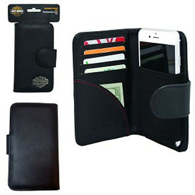 Harley Davidson Credit Card Wallet fits LG Stylo 3,Stylus 3 with a slim cover o