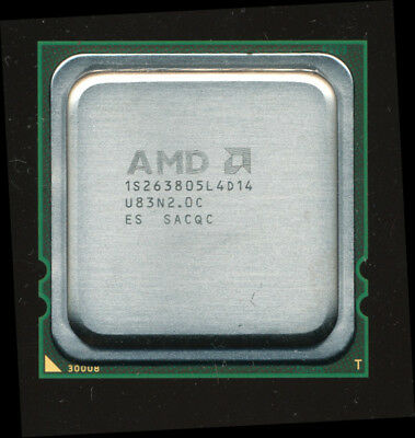 AMD 1S263805L4D14 Engineering Sample Shanghai 4-core 2.6GHz Opteron 8382 Equiv