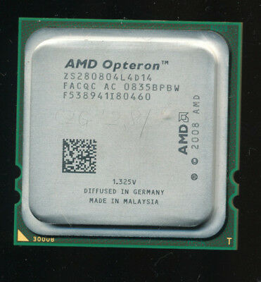 AMD ZS280804L4D14 Engineering Sample Shanghai 4-core 2.8GHz Opteron 8386 SE Equi
