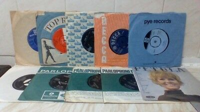 "1960's Pop - 10 X 7"" Job Lot - The Beatles, The Hollies, The Tremeloes. Sp-1.99"