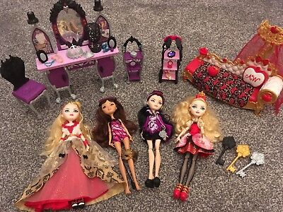 Ever After High dolls bundle